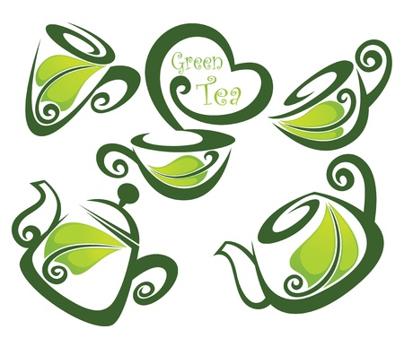 green tea Stock Vector - 15937328