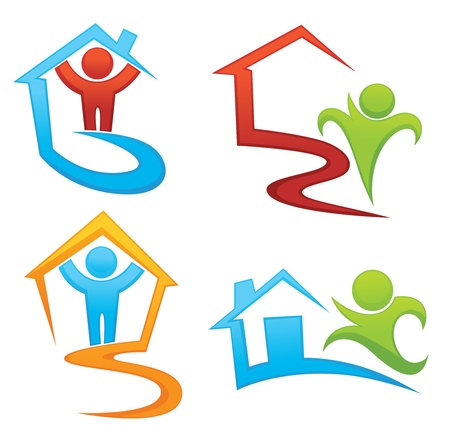 house in hand: property, development and real estate symbols
