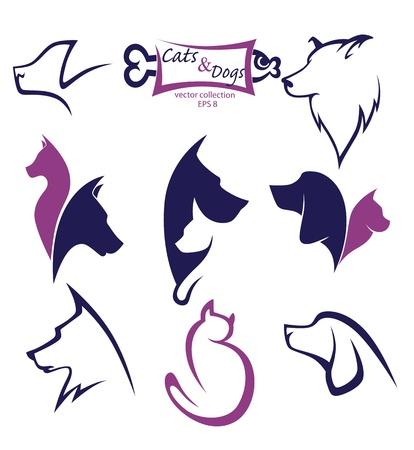collection de symboles animaux
