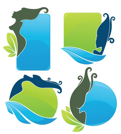 liquids: ecological and beauty stickers