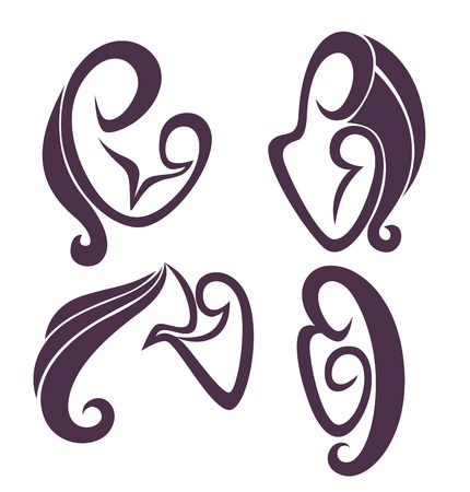 family emblems Vector