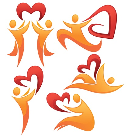 love  and hearts signs and symbols