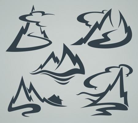 vector emblemen collectie