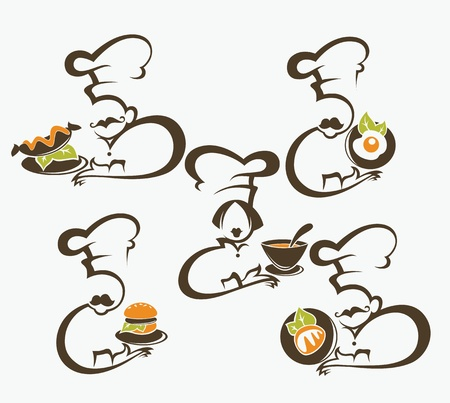 vector food symbold Stock Vector - 21989590