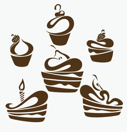 foods symbols Vector