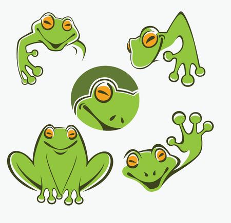 frog jump: Icons, symbols and emblems