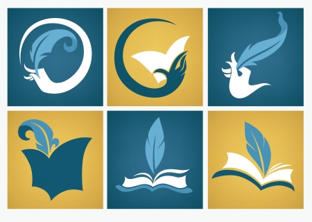 Vecteur de collecte d'icônes et de symboles plats Banque d'images - 24600424