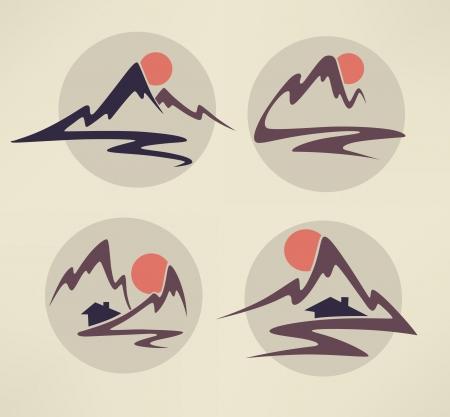 벡터 아이콘과 상징