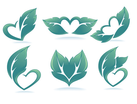 green vector collection Vector