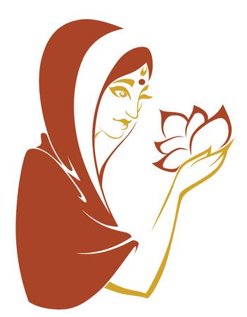 beauty women: vector ilustraci�n belleza