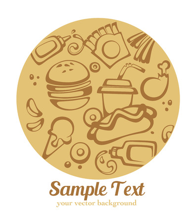 vector food background Vector