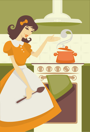 vector commercial illustration Vector