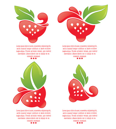 eco notice: fresh berry symbols