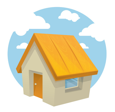 sold small: house illustration