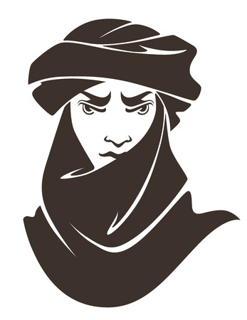 turban: vector illustration Illustration