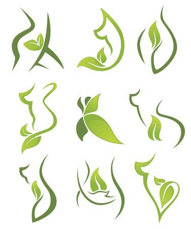 symbols, emblems and icons Illustration