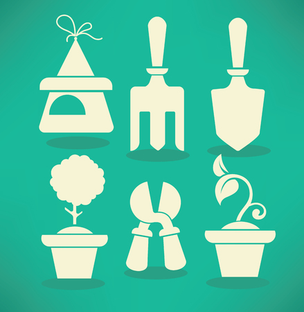 vector flat icons and symbols Vector