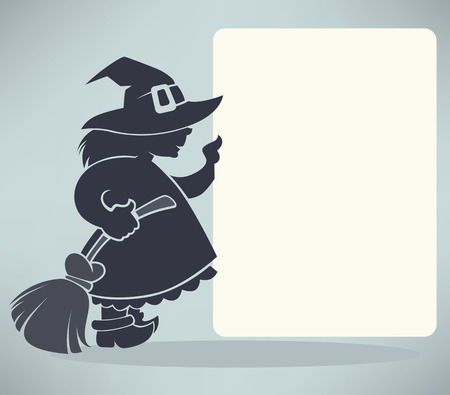 halloween greetings: vector Halloween background for your text