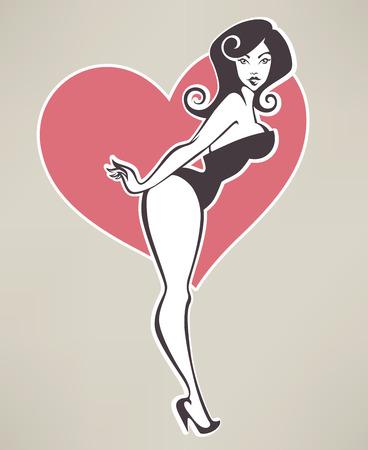 dancing girl: girl image