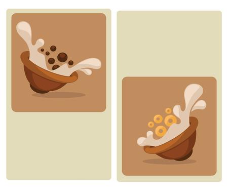 produits céréaliers: illstation alimentaire Illustration