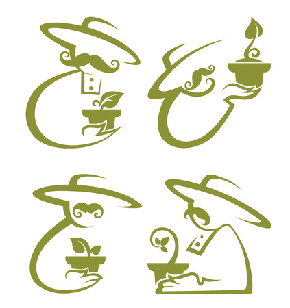 farmers vector images