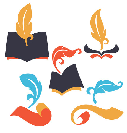 vector educational icons Illustration