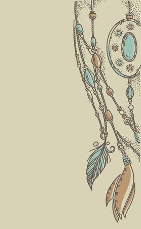 jewerly: vector hand drawn background
