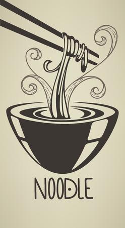 ramen: vector food illustration