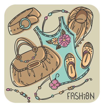 accessories: fashion accessories and cloth