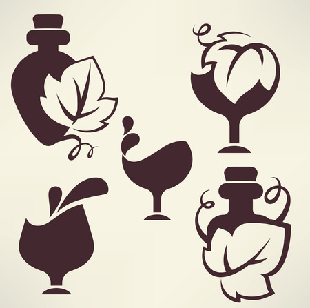 ferment: collection of stylized alcohol