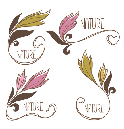 rise and shine: vector collection of spring flowers