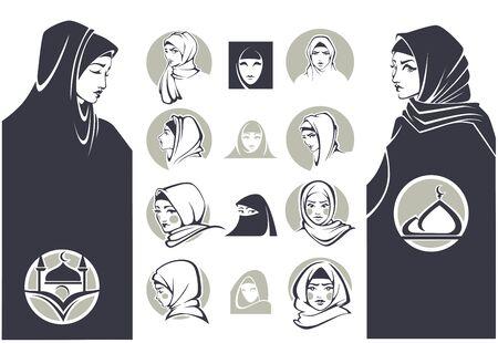 hijab: beautiful arabian girls collection