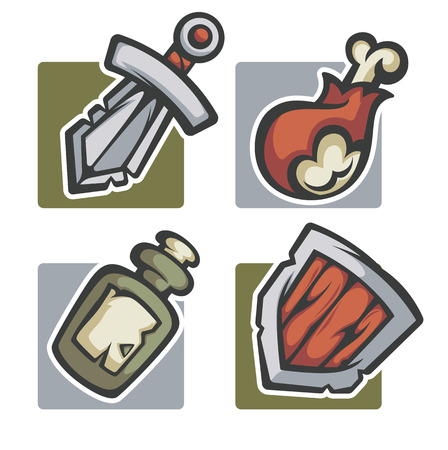 game meat: game design elements and objects