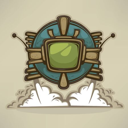 apocalyptic: small post apocalyptic robot, mascot