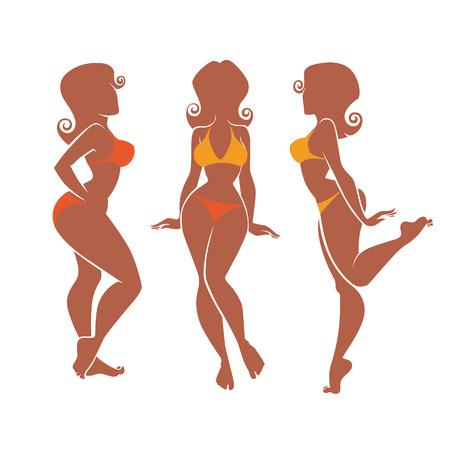 siluetas de mujeres: siluetas de verano más chicas modelos