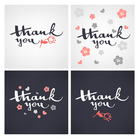 thank you lettering template designs for congratulation cards