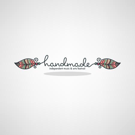 Handmade Art Festival  イラスト・ベクター素材