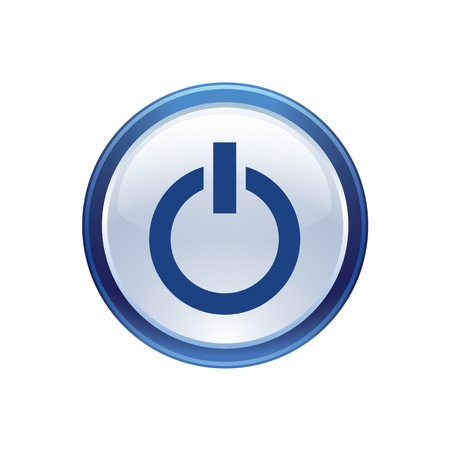 electrical power: icon web set for use Illustration