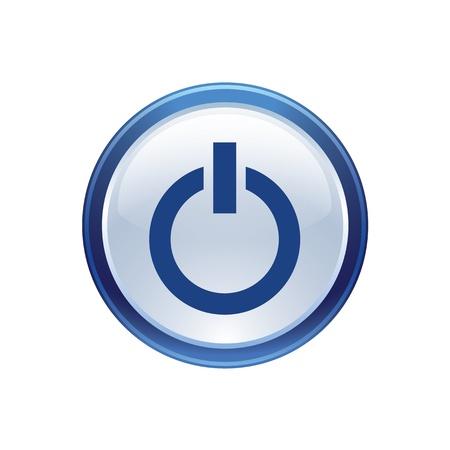 boton on off: icono Web para el uso