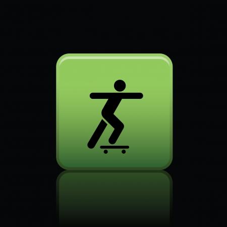 skatepark: icon web set for use Illustration