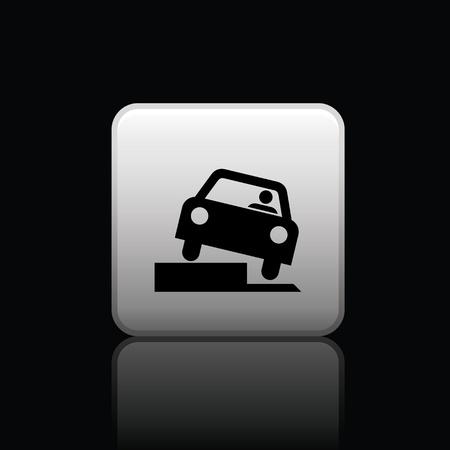 dodge: icon web set for use Illustration
