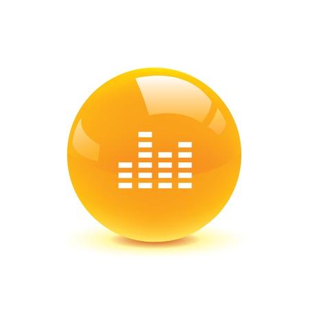 pc tune: icon web set for use Illustration