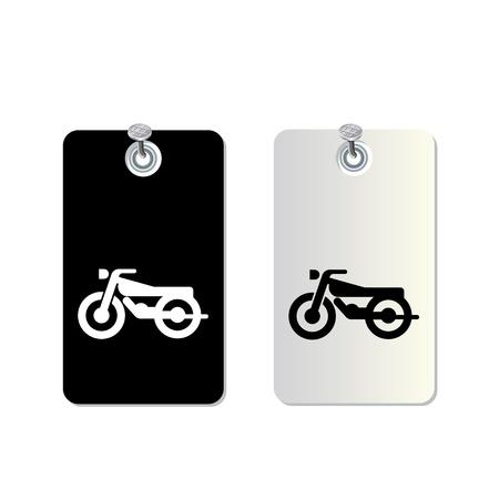 motorcross: set simbolo de uso
