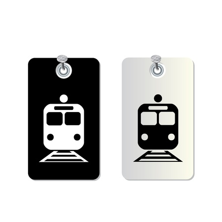 modern train: tag symbol set for use
