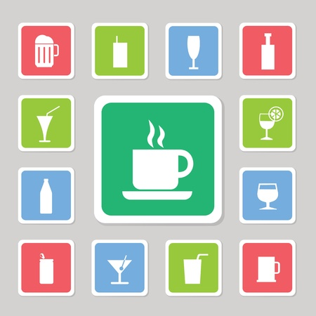 collection icons set for use  Vector