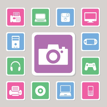 playstation: Icon IT set for use