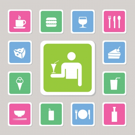 food and drink Icon for use Stock Vector - 20537248
