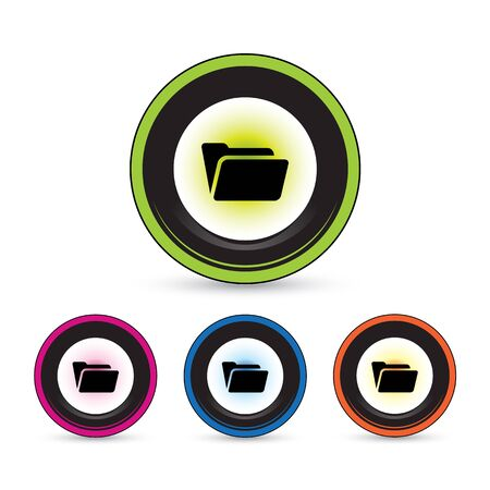button icon set for use Vector