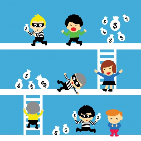 swindler: cartoon style for use