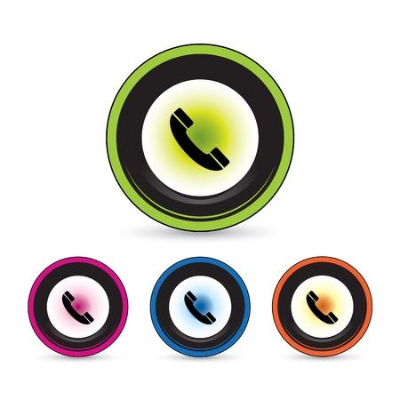 button icon set for use Stock Vector - 20864174